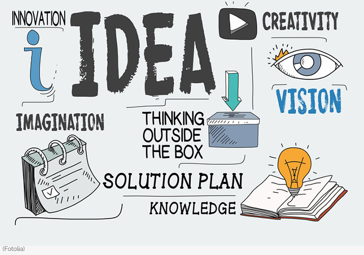 innovation idea creativity vision